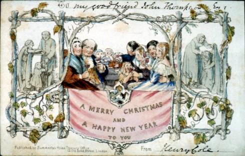 La primera postal de Nadal